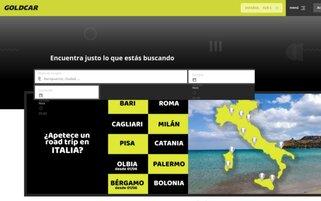 Goldcar Webseiten Screenshot