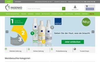 INSENIO Webseiten Screenshot