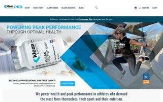 Klean Athlete Webseiten Screenshot