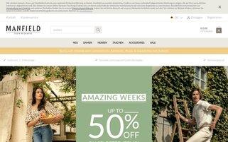Manfield Webseiten Screenshot