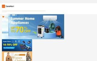 SaraMart Webseiten Screenshot