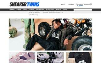 SneakerTwins Webseiten Screenshot