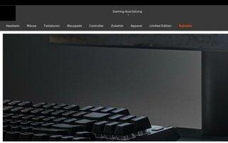 Steelseries Webseiten Screenshot