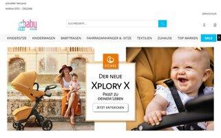 Babybrands Webseiten Screenshot