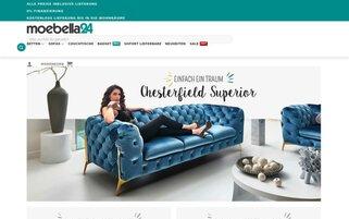 Moebella24 Webseiten Screenshot