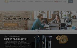 Tchibo Coffee Service Webseiten Screenshot