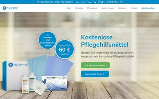 hysana Webseiten Screenshot