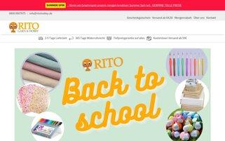 Ritohobby Webseiten Screenshot