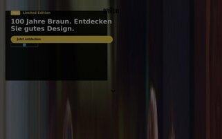 Braun Webseiten Screenshot