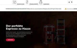 KitchenAid Webseiten Screenshot
